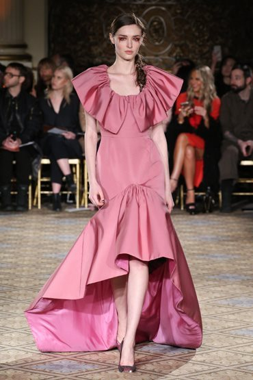 Есен зима 2017 / 2018 Christiano Siriano - vogue